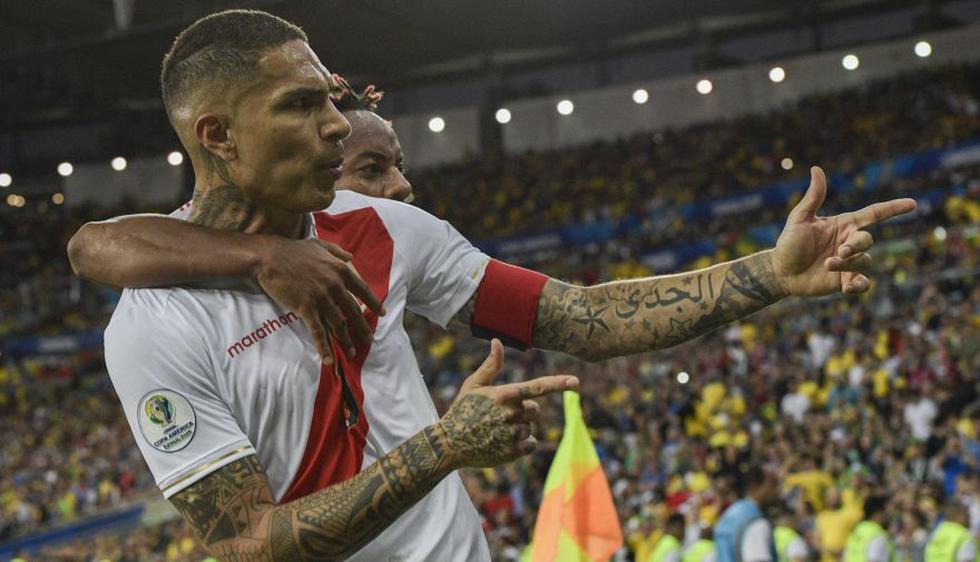 Copa América 2019: Paolo Guerrero comanda el equipo ideal del torneo con dos peruanos más.(Foto: AFP)