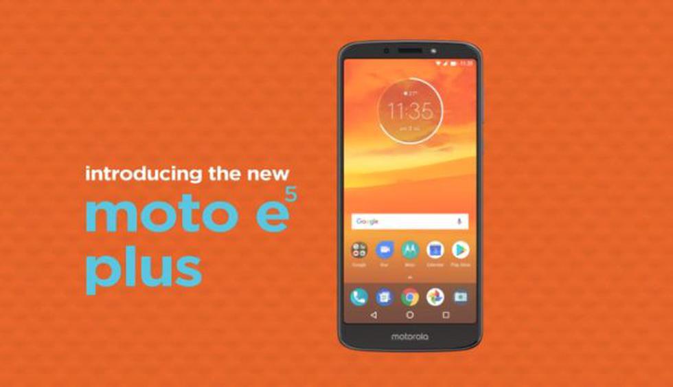 El nuevo E5 usa el sistema operativo Android 8.0. (Foto: Motorola)