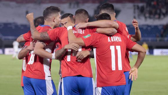 Paraguay venció 2-1 a Venezuela por la fecha 10 de Eliminatorias de Conmebol rumbo a Qatar 2022. (FOTO: APF)