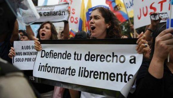 """""""Los dos países en la región que han ocupado más titulares en cuanto a falta de libertad de prensa parecen ser Nicaragua y Venezuela""""."""