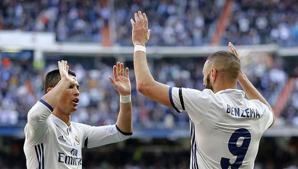 """Karim Benzema se rindió ante Cristiano: """"Es el mejor del mundo"""""""