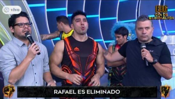 Rafael Cardozo fue eliminado del programa y se despidió entre lágrimas. (Foto: Captura de video)