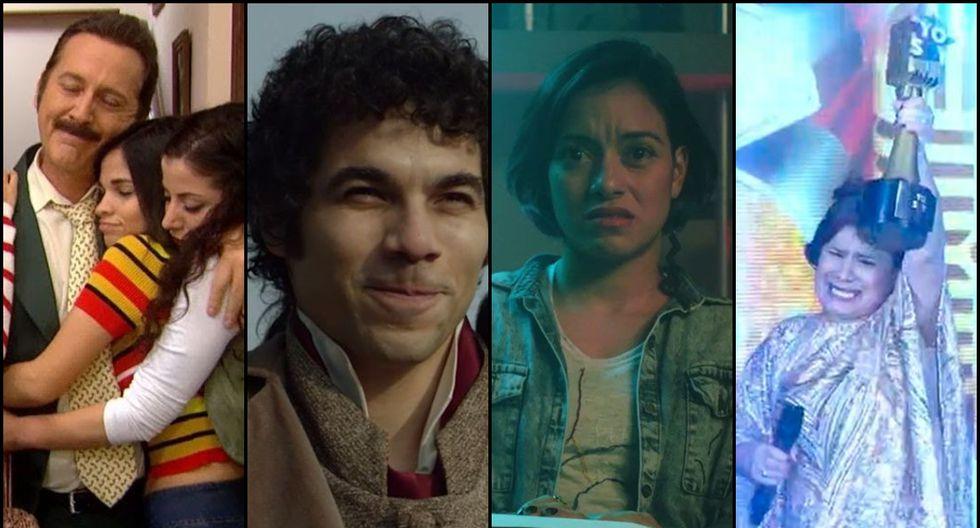 Los nominados a lo mejor de la televisión en los Premios Luces. (Foto: Difusión)