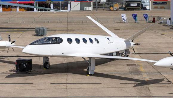 Alice, el modelo de avión eléctrico de Eviation, fue toda una sensación en el Paris Airshow. (Foto: Eviation)