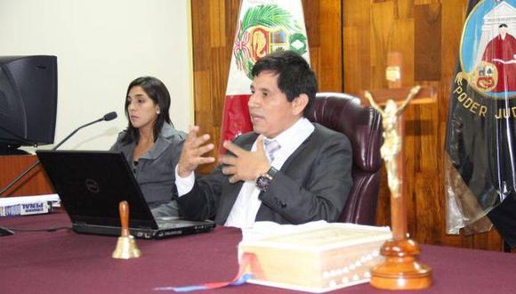 El juez Abel Concha rechazó que esté retrasando el pedido de arresto con fines de extradición para Alejandro Toledo por el Caso Ecoteva. (Foto: USI)