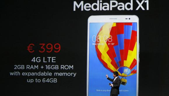 MWC14: Huawei presenta su tableta compacta MediaPad X1