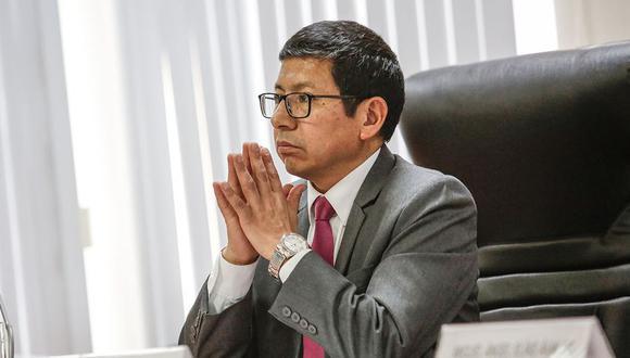 Trujillo vuelve a ser titular del MTC, luego de renunciar a ese cargo en abril, tras el incendio en Fiori que dejó 17 muertos. (Foto: Anthony Niño de Guzmán)