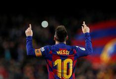 Con triplete de Lionel Messi, Barcelona venció 4-1 al Celta e igualó al Real Madrid en lo más alto de LaLiga