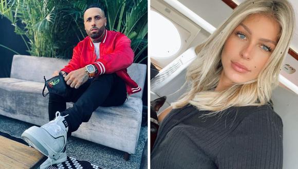 Nicky Jam confirmó que su compromiso con la atleta Cydney Moreau se acabó tras varias diferencias. (Foto: Instagram / @nickyjam / @cydrrose).