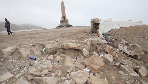 """""""El Morro Solar, en cambio, está abierto pero no tiene una infraestructura cultural que cuente la historia de la Batalla de San Juan, fuera del Monumento al Soldado Desconocido2"""". (Foto: Dante Piaggio)"""