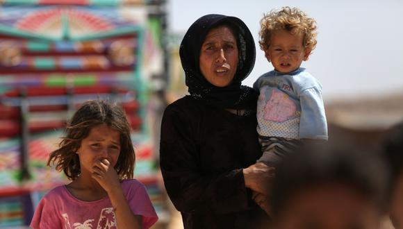 """Siria   ONU advierte que Idlib podría convertirse en la """"peor catástrofe humanitaria"""" del siglo 21. (AFP)."""