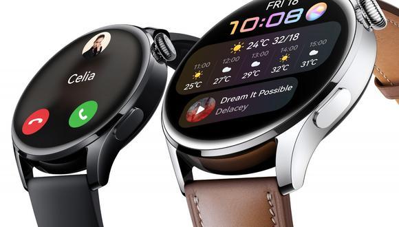 Huawei Watch 3 se lanza oficialmente. Conoce todos los detalles de este reloj con sistema operativo HarmonyOS. (Foto: Huawei)
