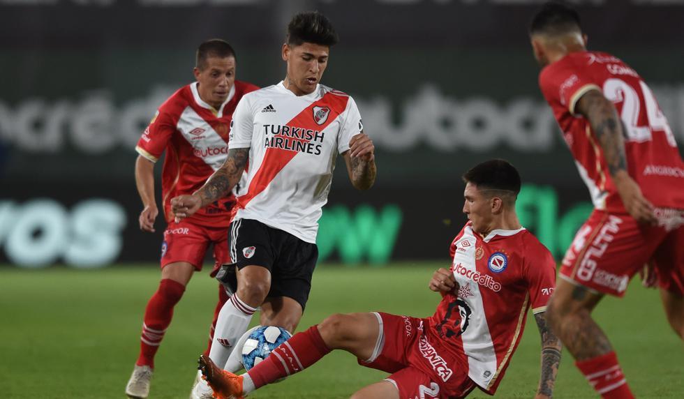 River Plate vs. Argentinos Juniors: las imágenes del duelo en el estadio Libertadores de América   Foto: @RiverPlate