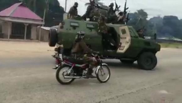 Militantes islamistas han combatido con el Ejército de Mozambique por días.