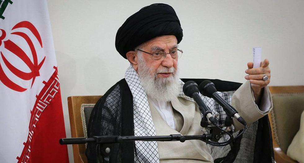 Irán: ayatola Alí Jamenei pide a la Guardia Revolucionaria que desarrolle armas más avanzadas. (AFP).