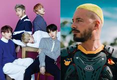 BTS y J Balvin actuarán en los MTV Video Music Awards, pero sin público