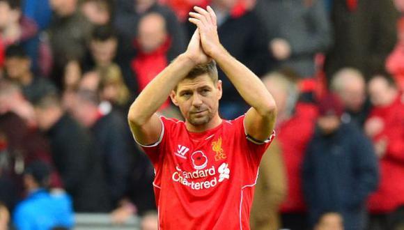Steven Gerrard jugó toda su vida en el Liverpool, antes de firmar por Los Angeles Galaxy. (Foto: AFP)