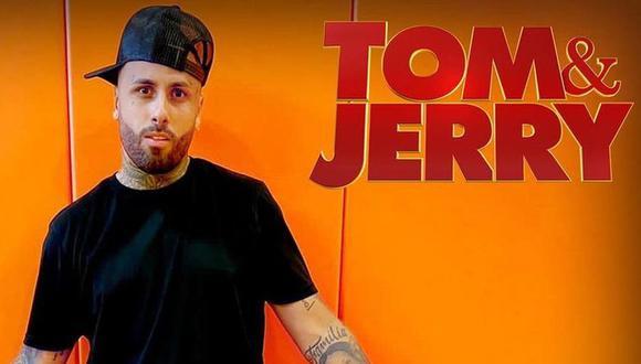"""Nicky Jam se une a Ozuna en nueva película de """"Tom y Jerry"""". (Foto: @nickyjam)"""