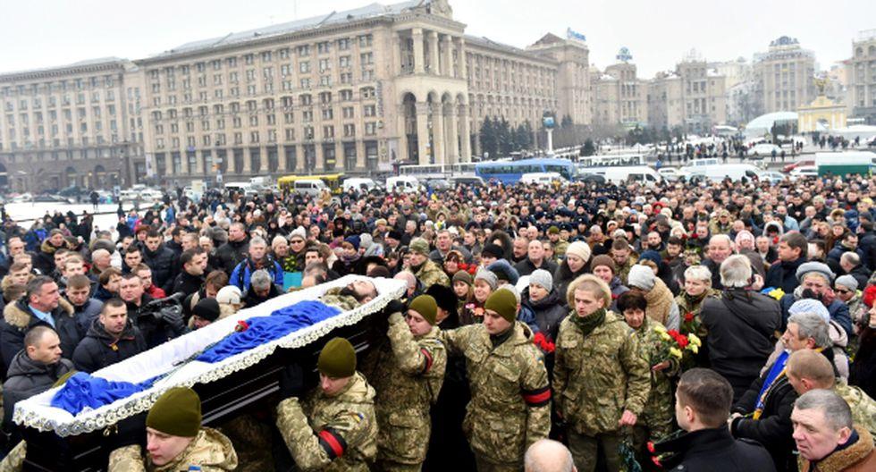 Violentos enfrentamientos enlutan el este de Ucrania