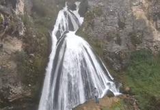 La Cascada de la Novia en Cajamarca y por qué se hizo viral un video de esta maravilla del Perú