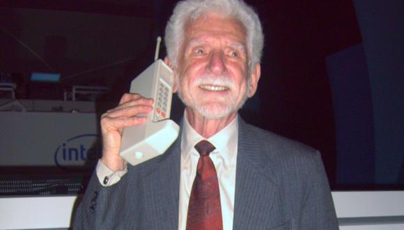 Martin Cooper llamó a su rival en la primera llamada por celular de la historia. (Foto: Wikimedia Commons)