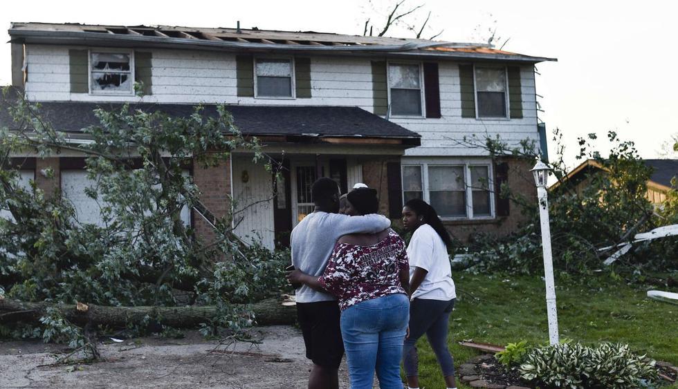 Potente tornado deja heridos, severos daños y millones sin energía en Ohio. (Foto: AFP)