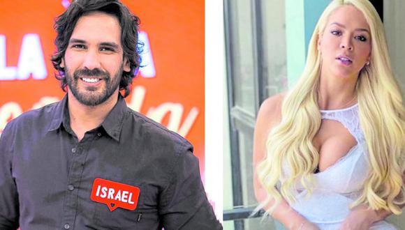 Sheyla Rojas e Israel Dreyfus tuvieron un romance que duró ocho meses (Foto: América TV)