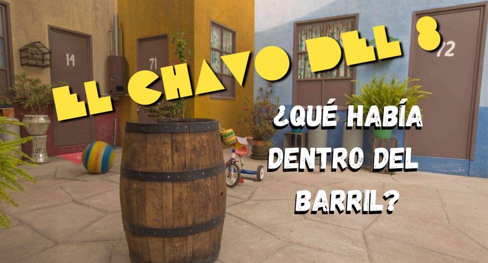 Foto 1 de 5 | El barril de 'El Chavo del 8' es una de las piezas de utilería más famosas de la historia de la televisión hispanoamericana. (Foto: airbnb.mx/Composición)