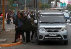 MTC propone que transporte en auto colectivo solo pueda realizarse cuando haya insuficiente oferta de ómnibus