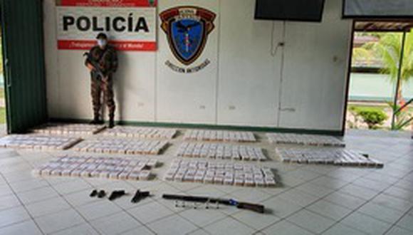 Según el comandante César Ramírez Santillana, jefe del Departamento de Operaciones Tácticas Antidrogas, los integrantes de la organización delictiva están plenamente identificados. (Foto: PNP)