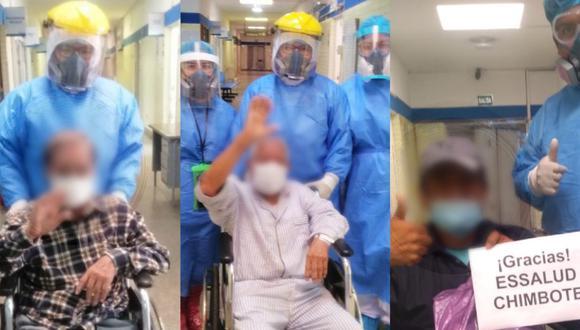 Áncash: 24 pacientes de EsSalud vencieron al COVID-19 y pasarán el Día del Padre en familia. (Foto: EsSalud)