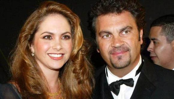 Lucero y Manuel Mijares se casaron en 1997, fue boda fue trasmitida por Televisa (Foto: Televisa)