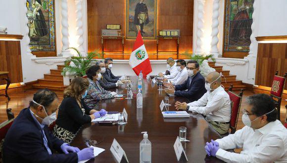 Martín Vizcarra convocó en abril a un Consejo de Estado para evaluar acciones frente a la pandemia por el coronavirus (Foto: Presidencia)
