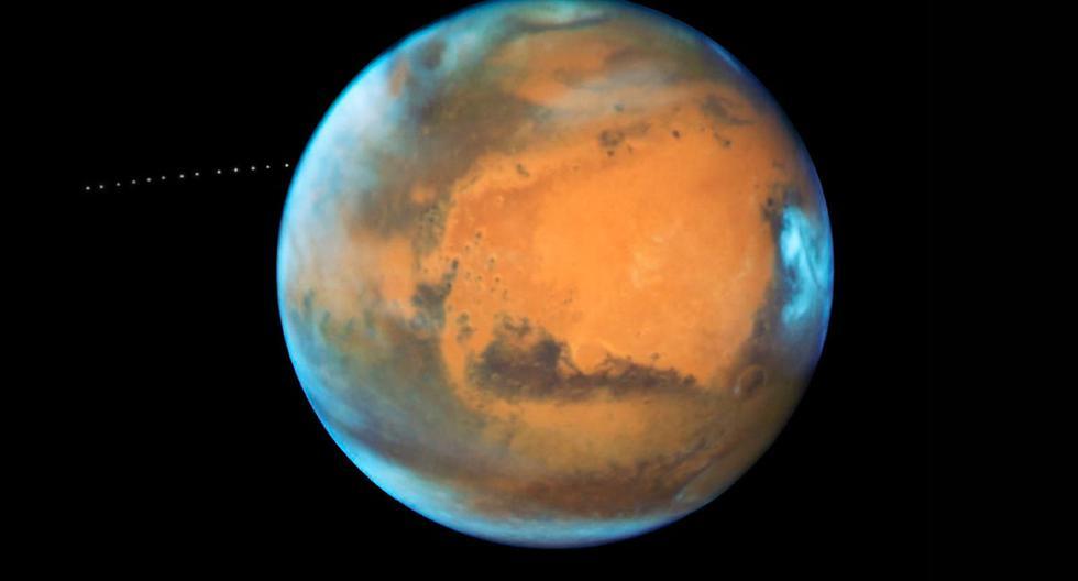 Marte es el cuarto planeta en orden de distancia al Sol y el segundo más pequeño del sistema solar, después de Mercurio. Este año deben salir rumbo a ese planeta varias misiones exploratorias.  (Foto referencial: NASA)