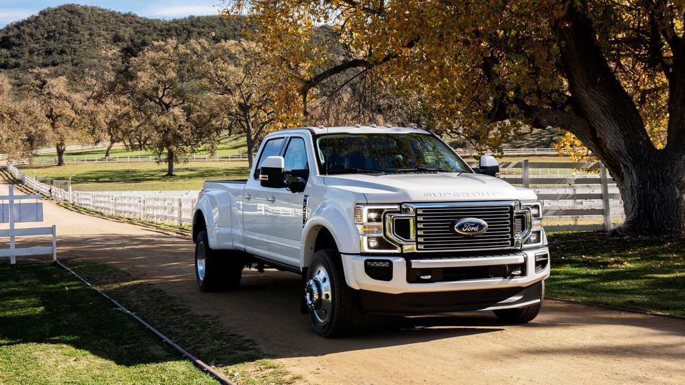 La Ford F-Series Super Duty 2020 contará con tres distintos tipos de motorizaciones, todas ellas con propulsor V8. (Fotos: Ford).