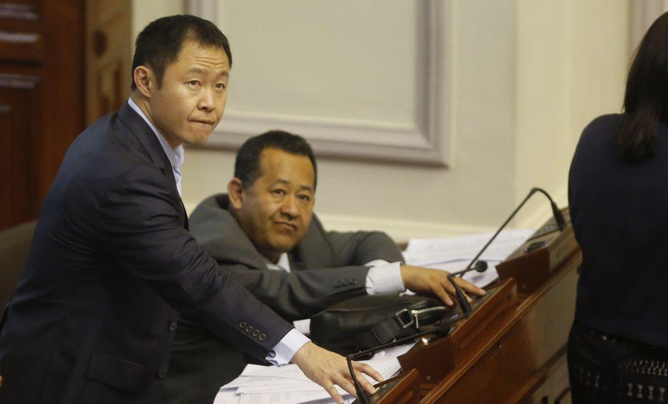 El congresista Kenji Fujimori ha anunciado que presentará una acción de amparo contra su suspensión ante el Poder Judicial. (Foto archivo El Comercio)