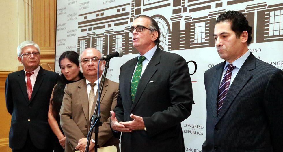Acción Republicana será la décima primera bancada en el Congreso, anunció su vocero, Pedro Olaechea. (Foto: Agencia Andina)