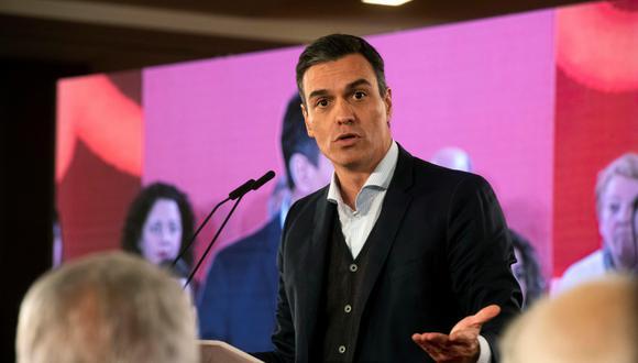 Pedro Sánchez convocó a elecciones generales para el 28 de abril, luego del rechazo recibido en el Congreso de los Diputados a los Presupuestos Generales del Estado de 2019.(Foto: EFE)
