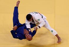 El judoca argentino que vendió su auto para ir a Tokio 2020 y fue eliminado a los 25 segundos