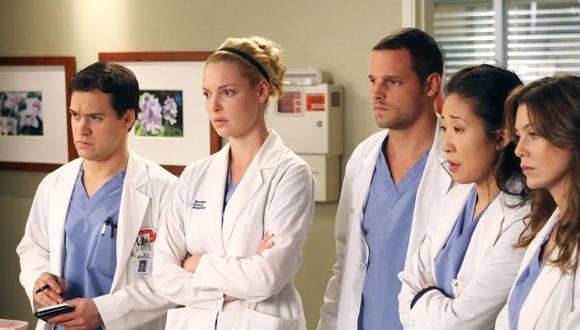 """Meredith, Alex, George, Izzie y Cristina fueron los cinco pasantes originales de """"Grey's Anatomy"""" y los favoritos del público (Foto: ABC)"""