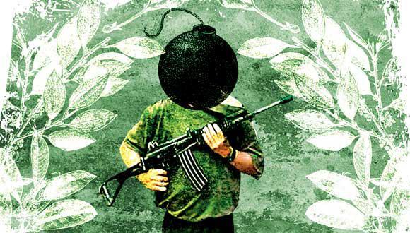 """""""Son cifras de espanto que deberían dar lugar a la acción, no a quejumbrosas lamentaciones diplomáticas"""" (Ilustración: Raúl Rodríguez)."""