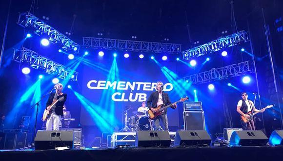 Cementerio Club realizará su primer concierto online este sábado. (Foto: Facebook oficial).