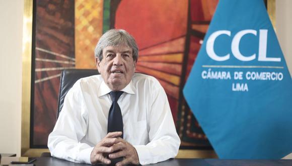 Peter Anders Moores fue elegido presidente de la CCL en octubre del año pasado y sucedió en el cargo a Yolanda Torriani. (Foto: CCL)
