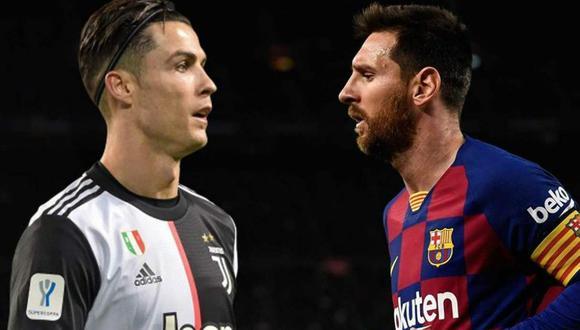 Cristiano Ronaldo y Lionel Messi se enfrentarán en la Champions League. (Foto: AFP)