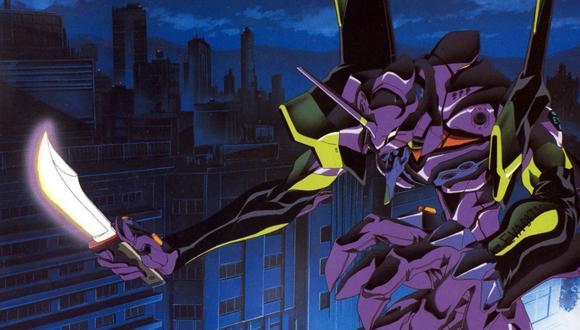 """El famoso Eva-01 de Ikari Shinji, símbolo de la serie """"Neon Genesis Evangelion"""". (Imagen: Khara)"""