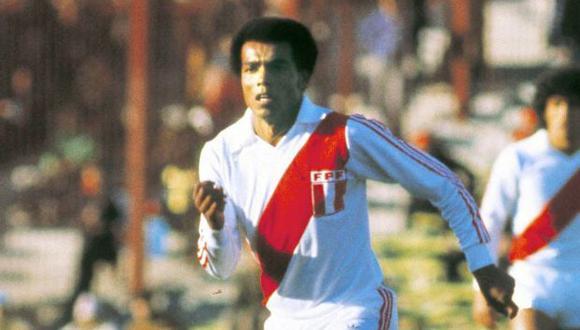 Teófilo Cubillas. El eterno Nene de 1978. FOTO: AFP.