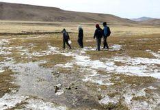 Arequipa soportó este lunes la temperatura más baja del mes, según el Senamhi