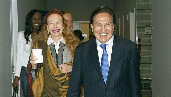 El ex presidente Alejandro Toledo y su esposa, Eliane Karp, son investigados por el presunto delito de lavado de activos a raíz del Caso Ecoteva. (Foto: EFE)