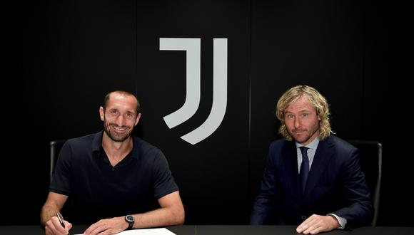 Giorgio Chiellini renovó contrato con Juventus hasta el 2023. (Foto: Juventus TV)