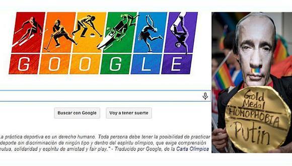 La elegante defensa de Google a los derechos LGTB en Sochi 2014